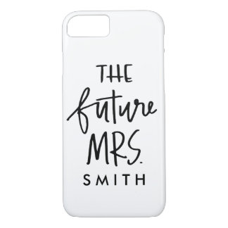 The Future Mrs. Custom Phone Case