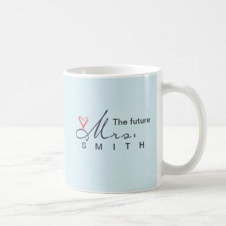 The future Mrs.  - customize your own! Basic White Mug