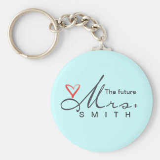 The future Mrs.  - customize your own! Key Ring