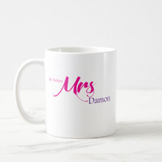 The Future Mrs Damon Basic White Mug