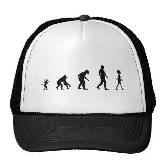 The Future of Human Evolution Mesh Hats