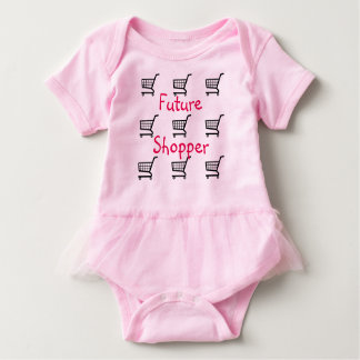 The Future shopper baby onsie Baby Bodysuit