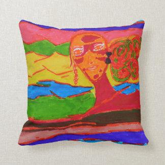 the future women cushion