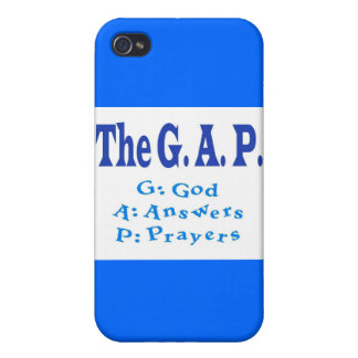 The G A P Collection Cover For iPhone 4