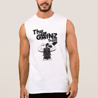 THE GAINZ TRAIN SLEEVELESS SHIRT