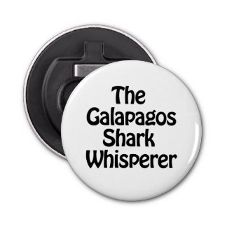 the galapagos shark whisperer bottle opener