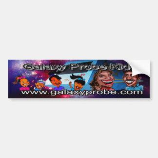 The Galaxy Probe Kids Bumper Sticker Car Bumper Sticker