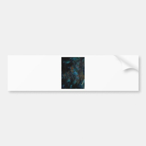 The Galaxy Shifting in the Atmosphere Bumper Sticker