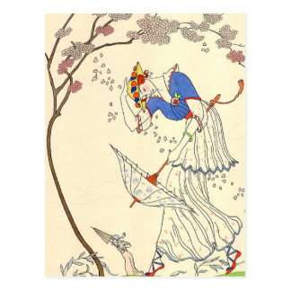 The Gale by George Barbier Postcards