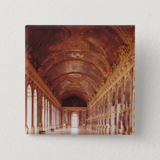 The Galerie des Glaces  1678-84 15 Cm Square Badge