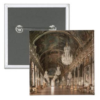 The Galerie des Glaces  1678-84 15 Cm Square Badge