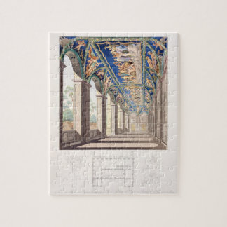 The Gallery of Psyche at the Villa Farnesina, Rome Jigsaw Puzzle