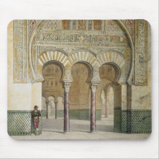 The Gallery of the Court of Lions at the Alhambra, Mouse Mat