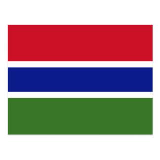 The Gambia, Gabon Postcard