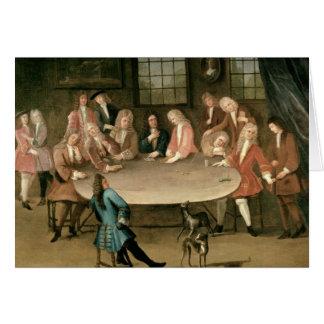 The Gamblers Greeting Card
