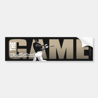 The Game... Bumper Sticker