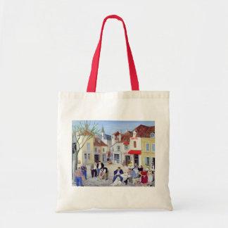 The Game Burgundy Budget Tote Bag