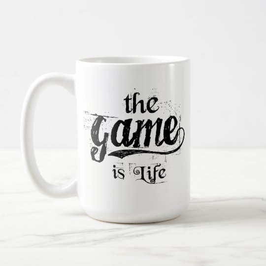 The Game is Life Mug