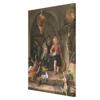 The Game Larder (panel) Canvas Print