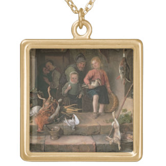 The Game Larder (panel) Gold Plated Necklace
