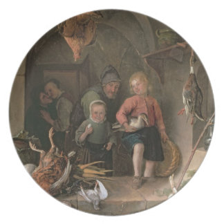 The Game Larder (panel) Plate