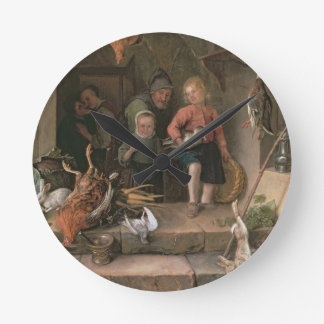 The Game Larder (panel) Wall Clocks