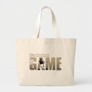 The Game... Large Tote Bag