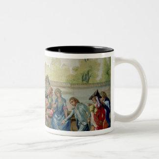 The Game of Bowls Two-Tone Coffee Mug