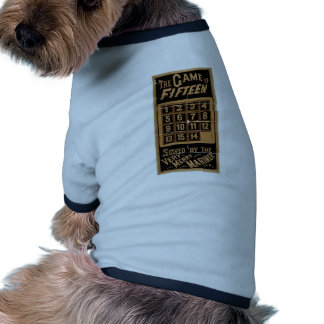The Game of Fifteen Retro Theater Pet Clothing