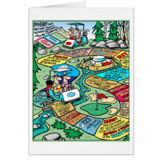 The Game of Golf Greeting Card