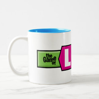 The Game of Life Logo Two-Tone Coffee Mug