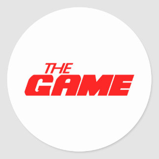 The Game Round Sticker