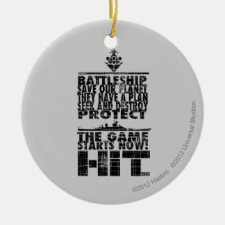 The Game Starts Now Christmas Ornament