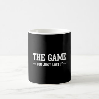The Game You Just Lost It Basic White Mug