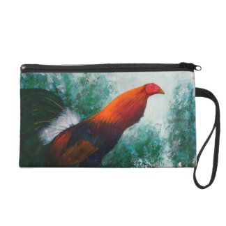 The gamecock  - Wild animal Wristlet bag