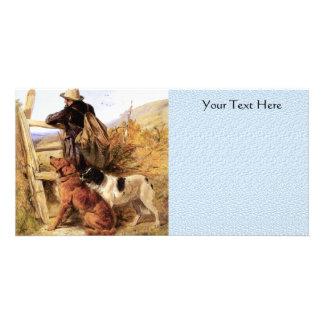 The Gamekeeper Photo Greeting Card