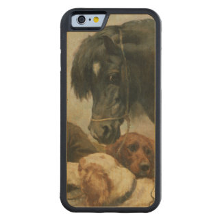 The Gamekeeper's Companion Carved® Maple iPhone 6 Bumper Case