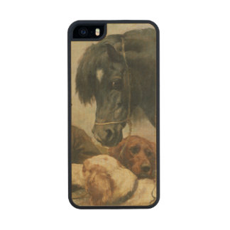 The Gamekeeper's Companion Carved® Maple iPhone 5 Slim Case