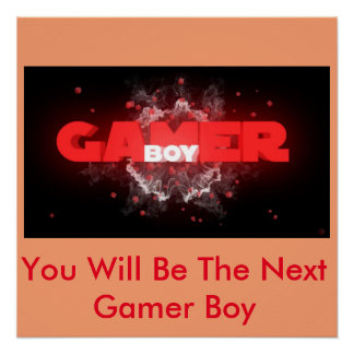 The Gamer Boy (Poster)