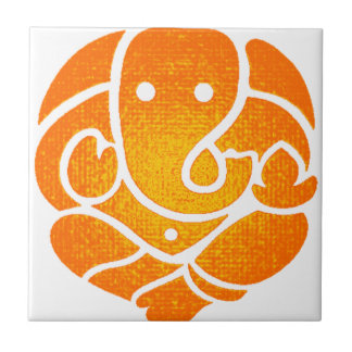 THE GANESH LOVE SMALL SQUARE TILE