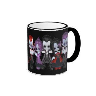 The Gang Little Gothics Ringer Mug