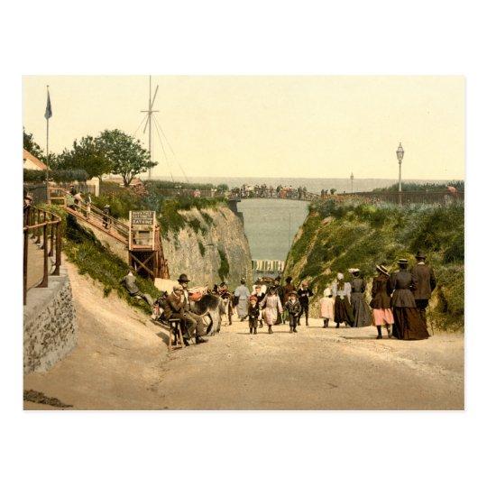 The Gap, Margate, Kent, England Postcard