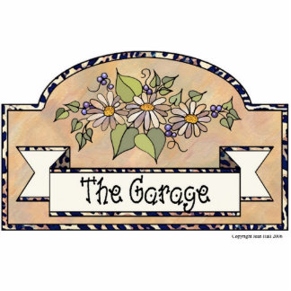 The Garage - Decorative Sign Acrylic Cut Outs