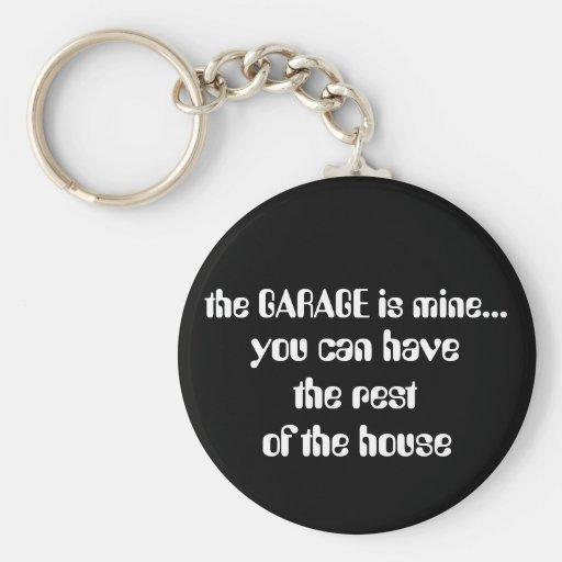 the GARAGE is mine..., Keychain