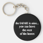 the GARAGE is mine..., Keychains