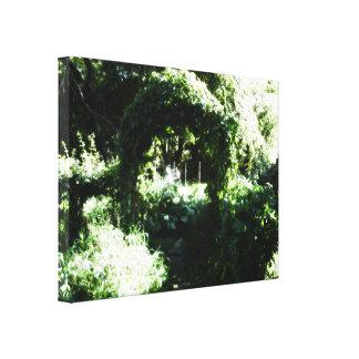 The Garden Canvas Prints