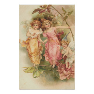The Garden Fairies Poster
