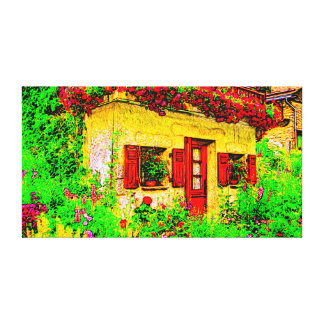 The Garden Gallery Wrapped Canvas