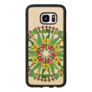 The Garden Illustration Wood Samsung Galaxy S7 Edge Case