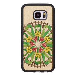 The Garden Illustration Wood Samsung Galaxy S7 Edge Case